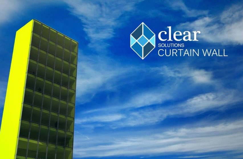 Portada para video de muro cortina Clear Solutions de Basica®